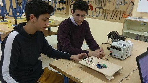 robótica y programación con alumnos de ESO