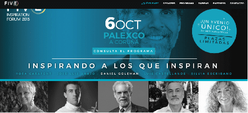 FIVE Inspiration Forum, congreso de octubre