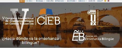 V Congreso Internacional de Enseñanza Bilingüe - CIEB 2018: congreso de octubre