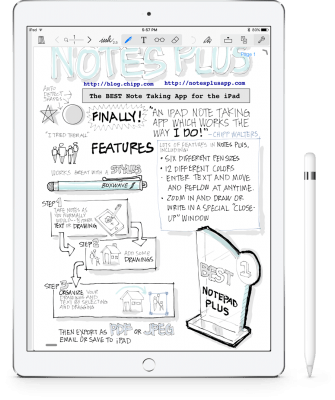Notes Plus apps to scan