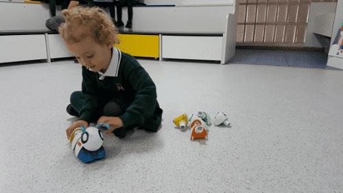 Experiencia Makedo_ programación en Infantil