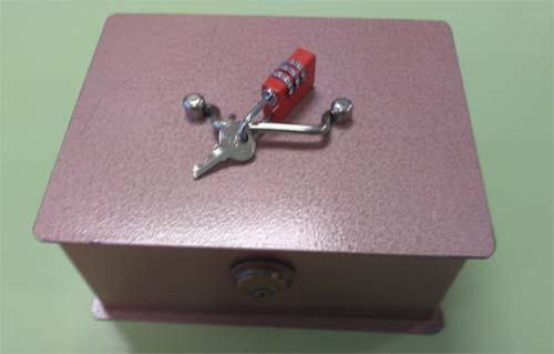 caja para un scape room