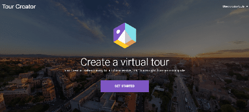 Google Tour Creator