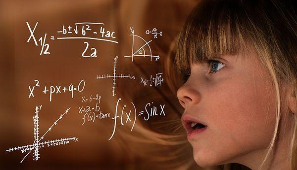 niña matematicas