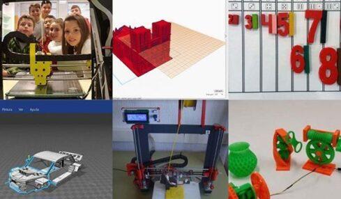 experiencias con impresión 3D