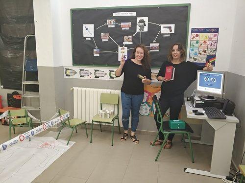escape room en el CEIP Reino de Murcia
