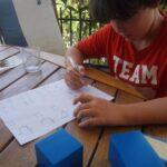 pasión de un estudiante por el álgebra
