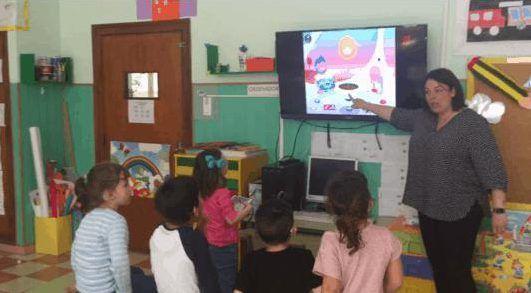 iPad y Tiny Trees para niños sordos