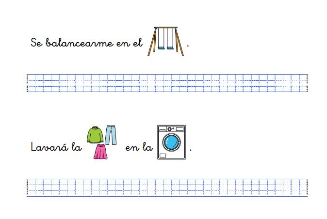 Taller de caligrafía: uso de pictogramas