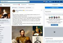 historia y redes sociales
