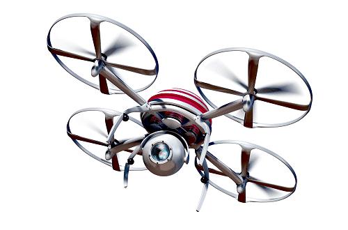 drones en el aula