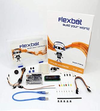 kit robotica Flexbot Build Your World