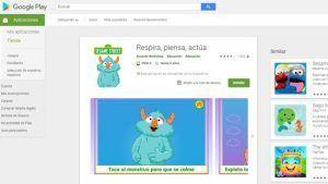 apps mindfulness niños barrio sesamo