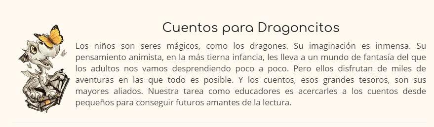 cuentos para dragoncitos