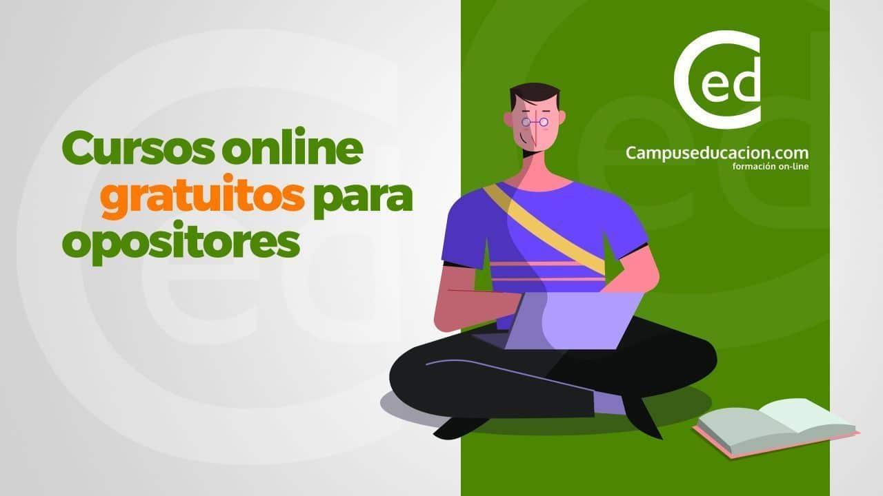Cursos online gratuitos para opositores
