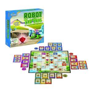 juego de mesa para aprender a programar robot turtle