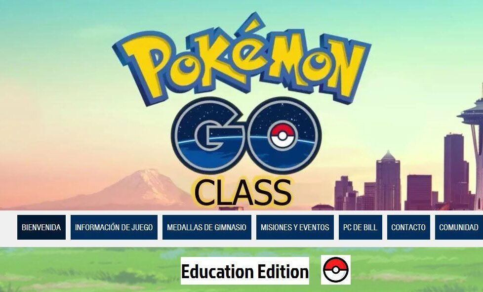 pokémon go class proyecto aula