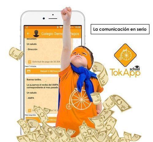 pagos seguros TokApp School