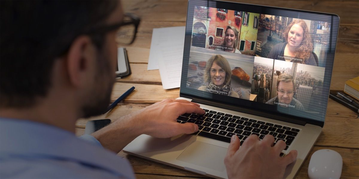 Videoconferencia para enseñanza a distancia