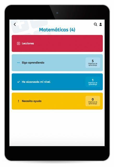 Snappet App para los alumnos