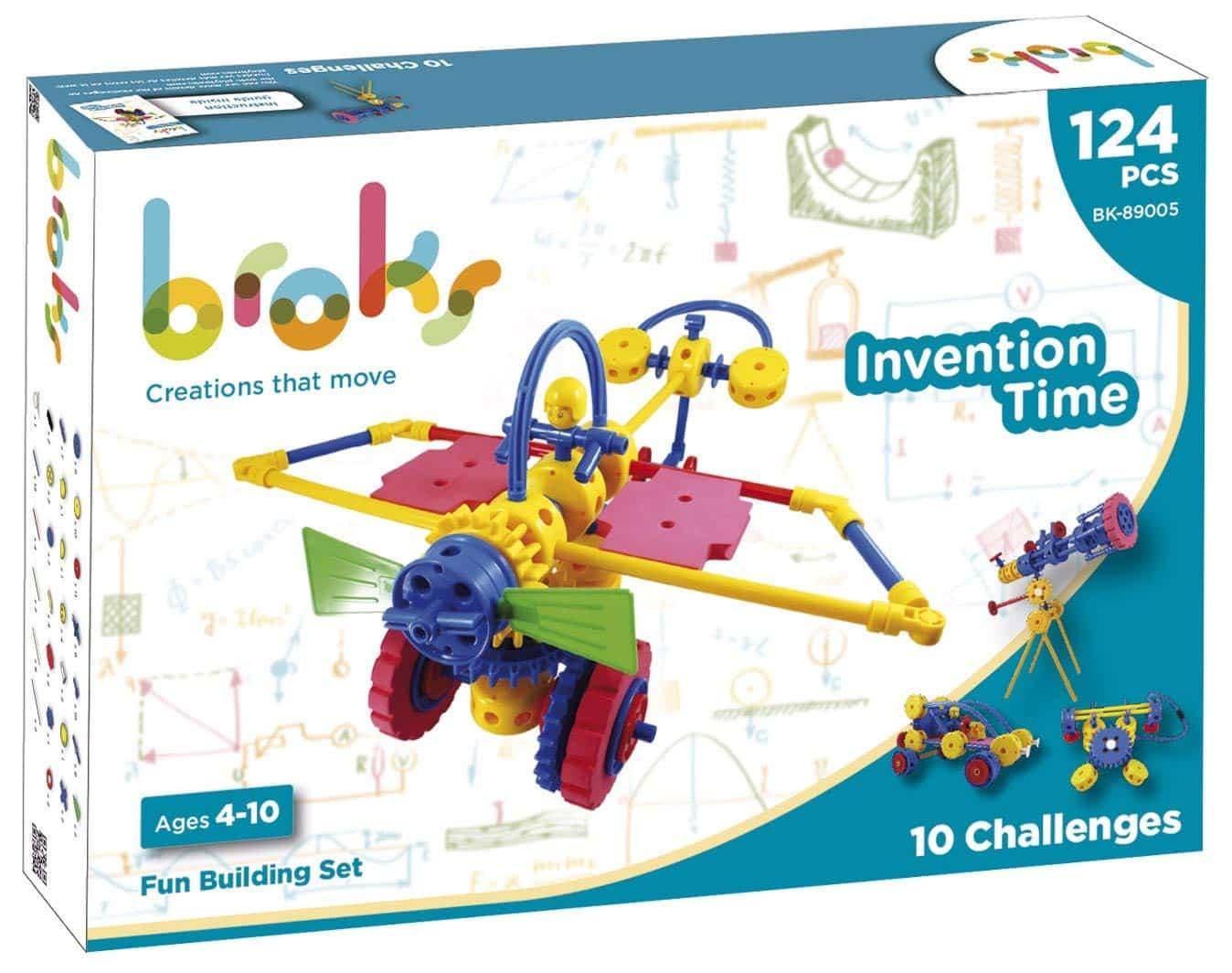 juguetes educativos: Broks Invention time