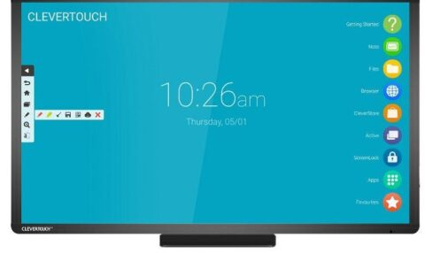 Clevertouch monitores interactivos