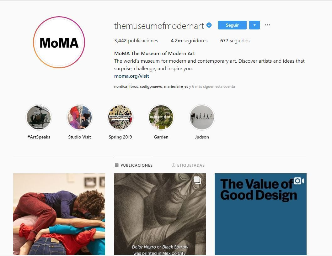 Museo de Arte Moderno de Nueva York (MoMA)