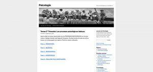 Blogs con apuntes de Psicología para estudiantes de Bachillerato