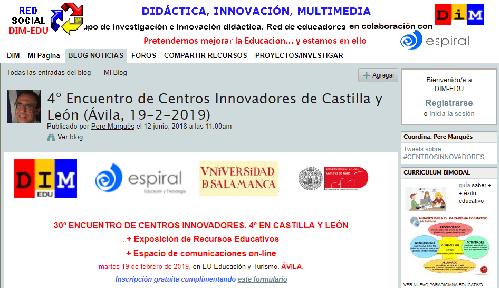 4º Encuentro de Centros Innovadores de Castilla y León