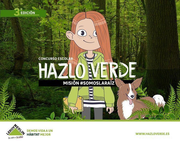 concurso escolar Hazlo Verde 'Misión #SomosLaRaíz'