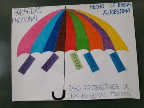 paraguas educación emocional