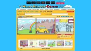 Herramientas online para crear comics: Make Beliefs Comix