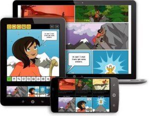 Herramientas online para crear comics: Pixton