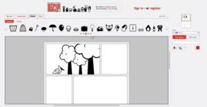 Herramientas online para crear comics: Strip Generator