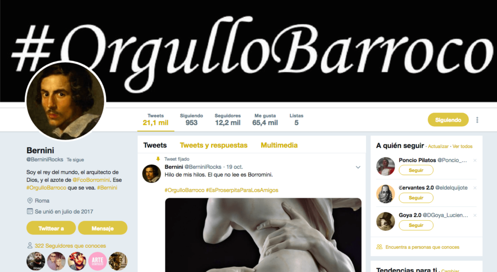 #OrgulloBarroco, una manera de aprender Historia del Arte
