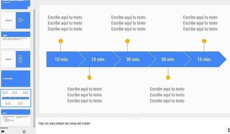 Presentaciones colaborativas con Google Slides