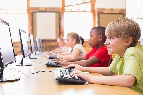 niños programación primaria