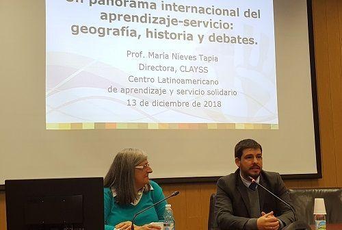 Nieves Tapia: experta en Aprendizaje Servicio