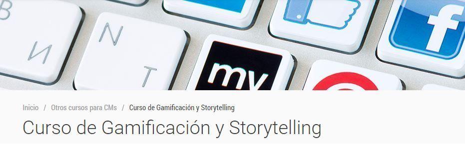 Curso de gamificación y Storytelling