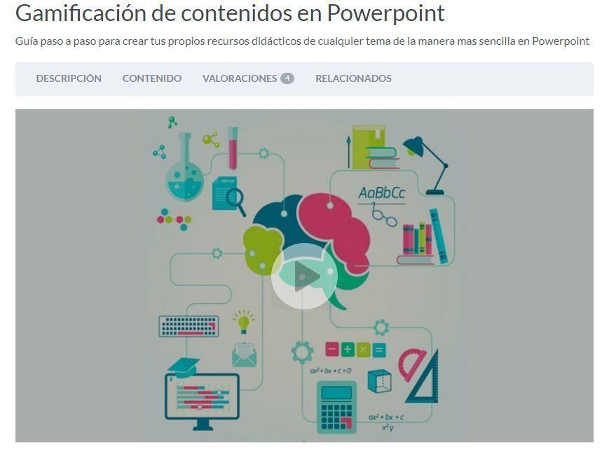 Gamificación de contenidos en PowerPoint