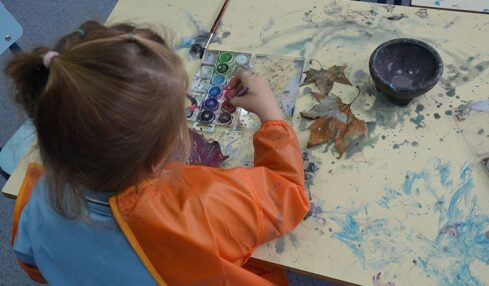 creatividad en Infantil