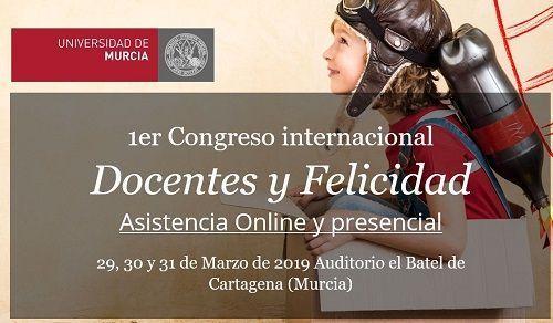 1º Congreso Internacional de Docentes y Felicidad: eventos educativos de marzo