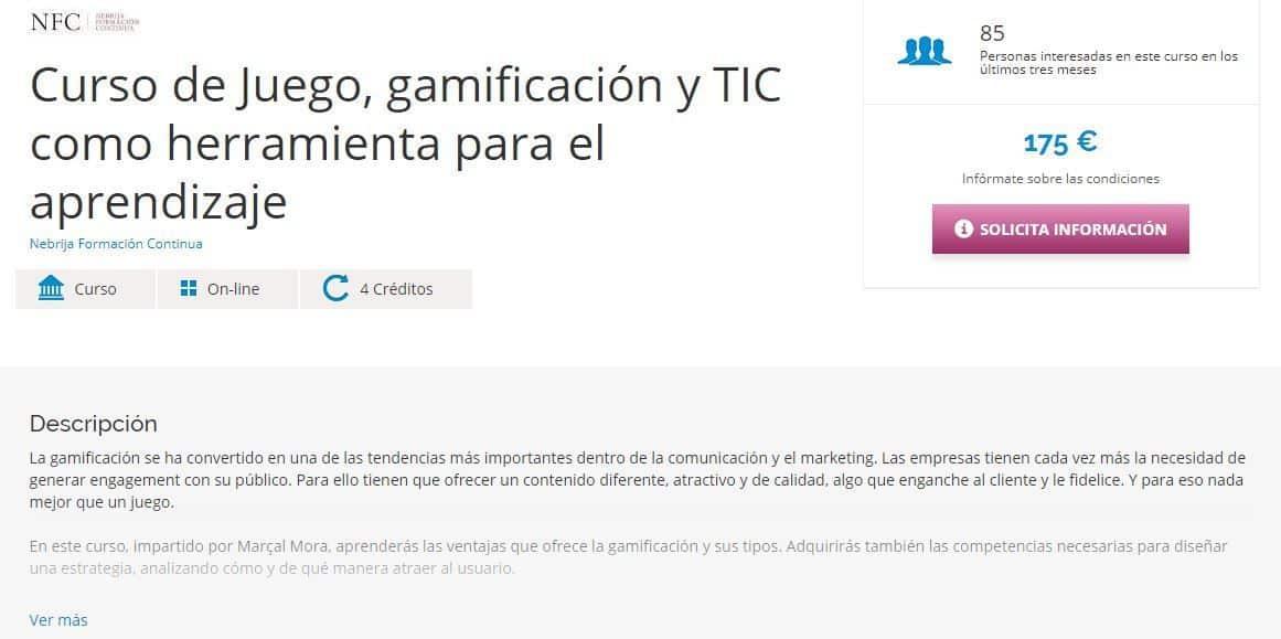 Educaweb Juego, gamificación y TIC