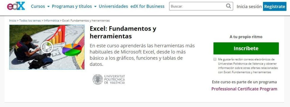 Excel: Fundamentos y herramientas