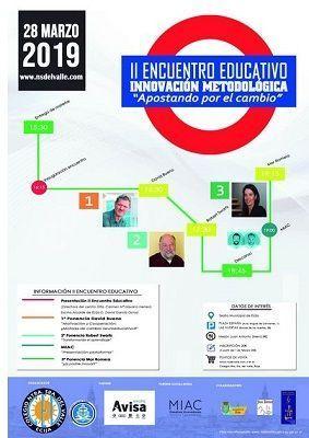 II Encuentro de Innovación Metodológica: eventos educativos de marzo