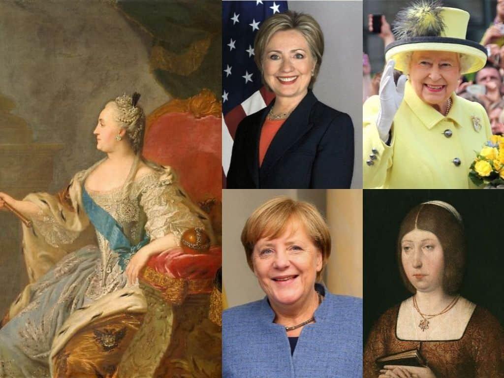 lideresas de la Historia