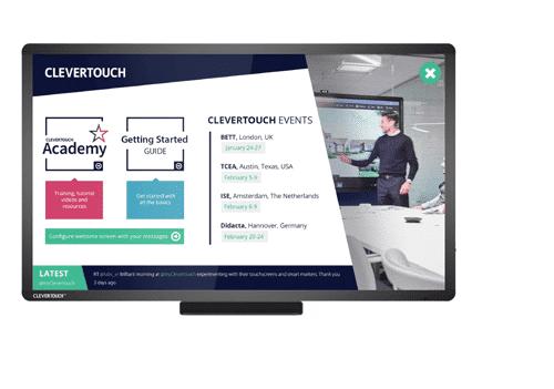 monitores interactivos para colaborar