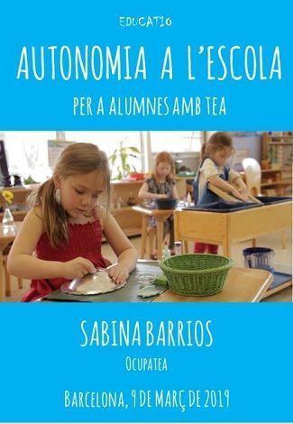 Autonomía en la escuela para alumnos con TEA: eventos educativos de marzo