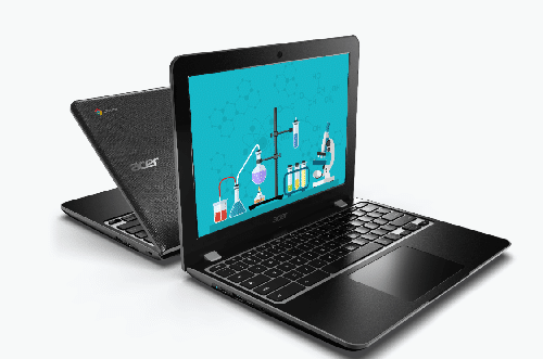 dispositivos chromebook de acer