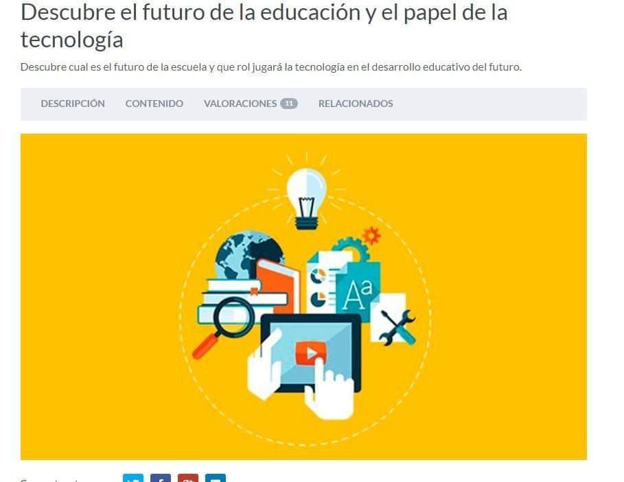 Descubre el futuro de la educación y el papel de la tecnología